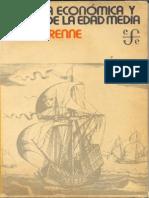 Pirenne, Henry - Historia Economica y Social de La Edad Media