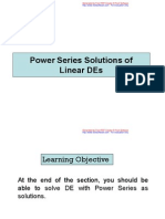 4 Series Solutions