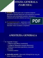 ANESTEZIA GENERALA + loco-regionala