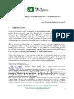 QUIÑONES GUANILO Javier Fernando Autoría y Participación en Los Delitos Especiales