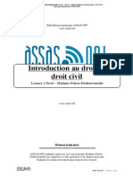Introduction Au Droit Et Droit Civil