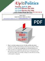 Wake Up to Politics - April 24, 2014