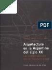 Arquitectura en La Argentina Del Siglo XX Liernuer Jorge Francisco