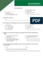drop off center survey php