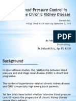 Intensive Blood-Pressure Control in Hypertensive Chronic Kidney Disease