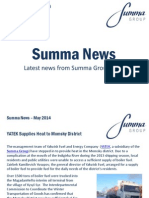Summa Group News, May 2014