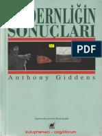 Anthony Giddens- Modernliğin Sonuçları