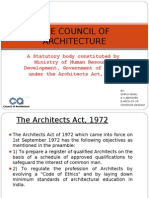 The Council of Architecture