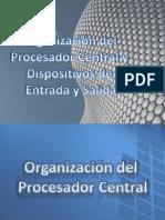 Organización Del Procesador Central y Dispositivos de Entrada