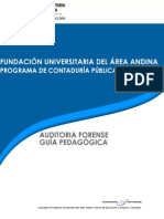 Guia Pedagogica Auditoria Forense