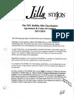 Jills Codes of Conduct 2013 2014