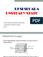 Konduksi Secara Unsteady State