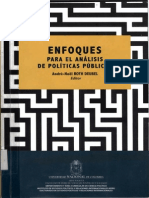 Eslava Analisis Neoinstitucional de Politicas Publicas