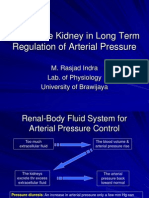 Role of the Kidney in Long Term Regulation