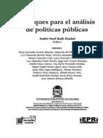 Roth Deubel Andre-No%C3%ABl_Las Politicas Publicas y Sus Principales Enfoques