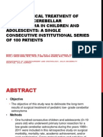 Journal Cerebellar Astrocytoma