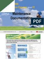 U2000 Maintenance Documentation