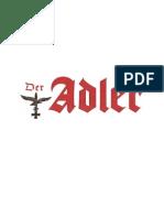 Der Adler - Zeitschrift der deutschen Luftwaffe - Mentation
