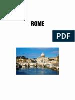 07 - Séjour en Italie - La Rome Antique