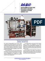 INSTRUMENTATION AND PROCESS CONTROL TRAINING SYSTEM SERIES 3531