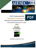 AIESEC Intro Macroéconomie - Livre Mankiw Résumé