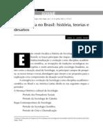 O Desenvolvimento Da Sociologia No Brasil