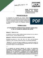 Proyecto de Ley No. 2932/2013-CR