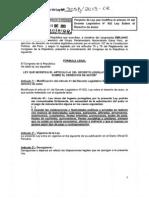 Proyecto de Ley No. 3058/2013-CR