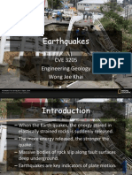 16. Earthquakes
