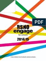 RSNO Engage Schools Brochure