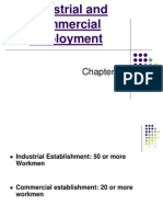 Chp 30 - (Industrial and Commercial Employment),31 (Payment of Wages) & 32 (Workmen's Compensation)