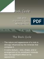 5. Rock Cycle