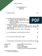 Test Dif Sem II Clasa Ix TIC
