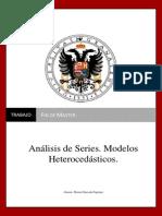 Análisis de Series. Modelos Heterocedásticos