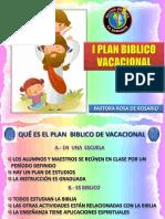 i Plan Biblico Vacacional