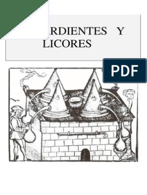 licores de hierbas y aguardientes medicinales pdf