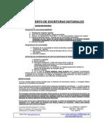 Requisitos Para El Otorgamiento de Escrituras Notariales