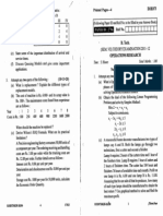 2nd Problem Set Operations Research -- Pert/CPM, Queuing