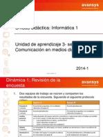 UDT Informatica I- U3 - Sesión 2