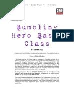 Bumbling Hero Basic Class