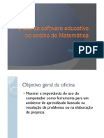software educativo no ensino de matematica