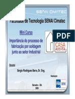 22803141 Importancia Do Processo de Fabricacao Por Soldagem Junto Ao Setor Industrial