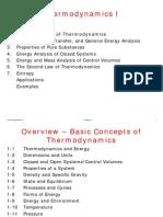 Thermodynamics 1 - Basic Concepts of Thermodynamics