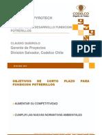 PROYECTOS DE DESARROLLO FUNDICION POTRERILLOS