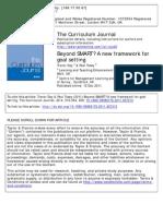 Beyond SMART a New Framework for Goal Setting