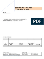 Inspection and Test Plan (KDBK)