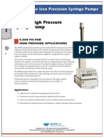 260HP Syringe Pump Datasheet