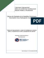 2006. Sistemas de Representación y Listas de Candidaturas. Santo Domingo.pdf