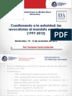 D 2012 Revocatorias en el Peru Montevideo.pdf