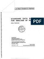 Standard Data Book for Analysis of Rates - 1